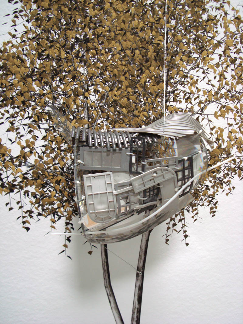The Painted Distances (Betula Pendula) 2008