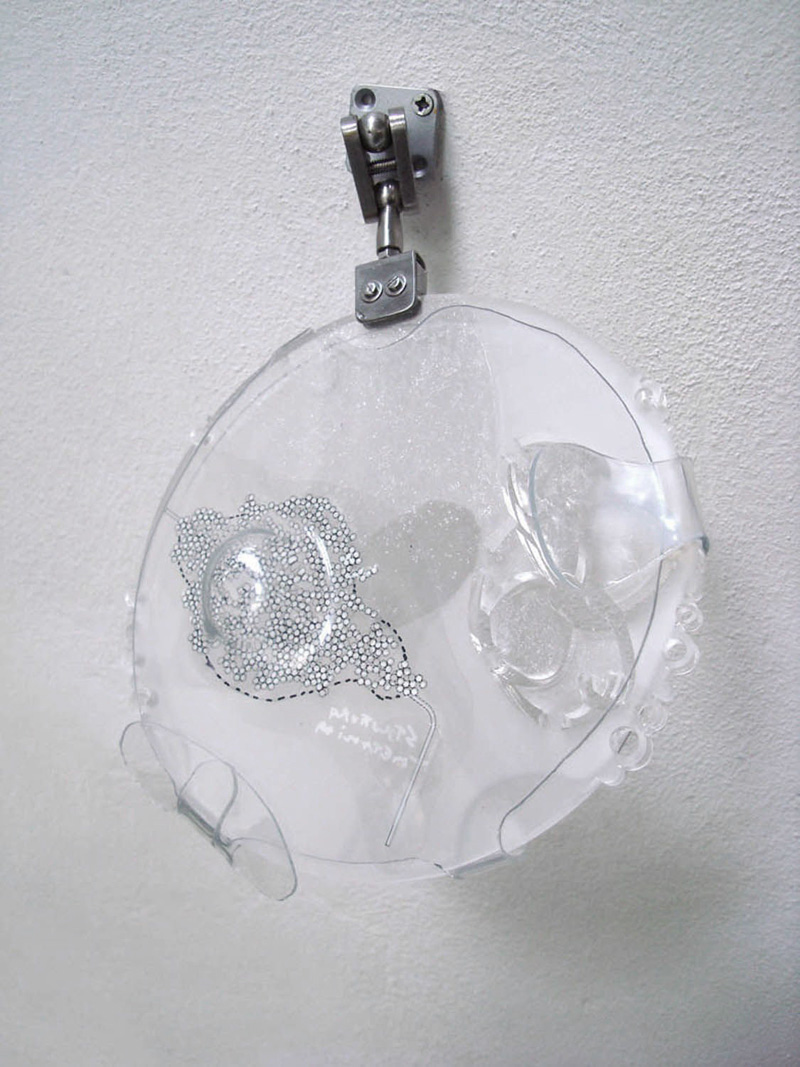 Quasi-trasparent Thoughts, (escape streetlamp), 2007