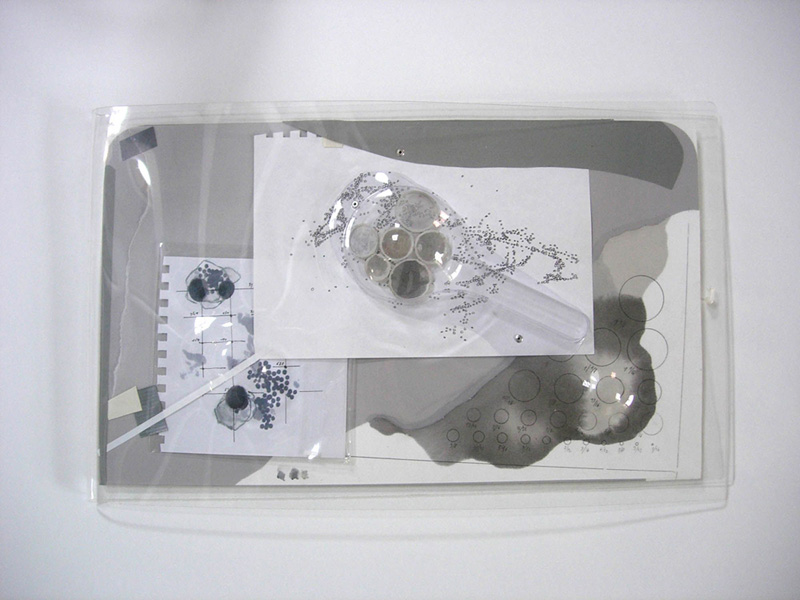 The Monologue Drawings (projects for Cloudless I), 2007