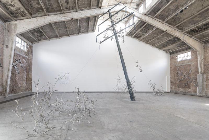 Loris Cecchini solo show, 2013