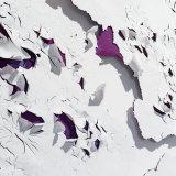 Loris Cecchini 2016, Peeling paints (Purple I)