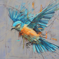 *SOLD* 'Eastern Bluebird'