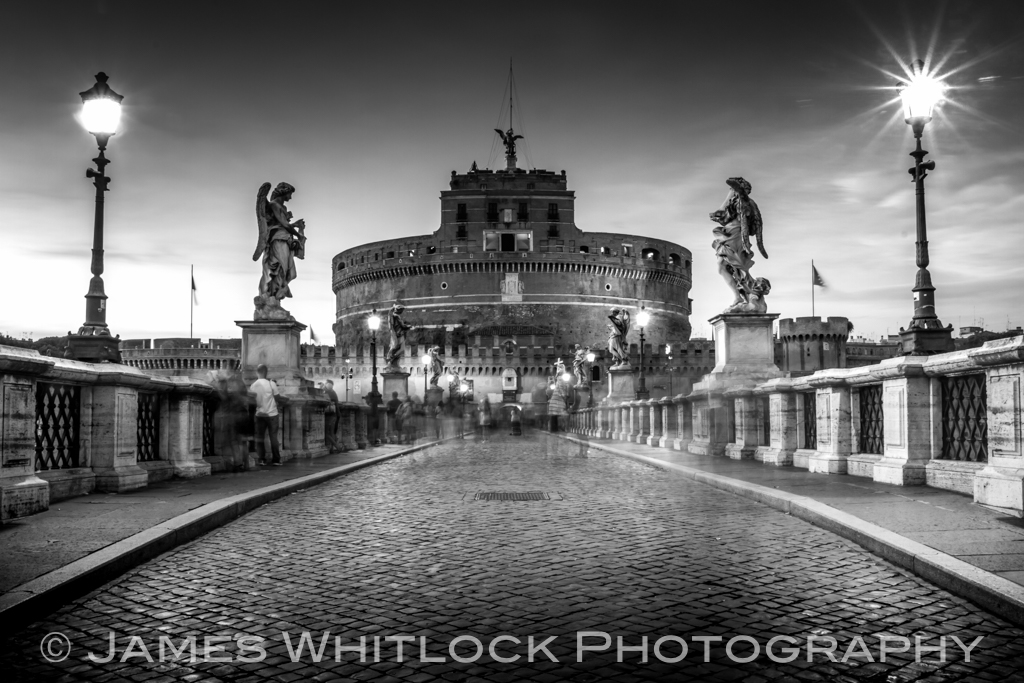 Black Castel St Angelo