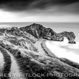 Black Path to Durdle Door