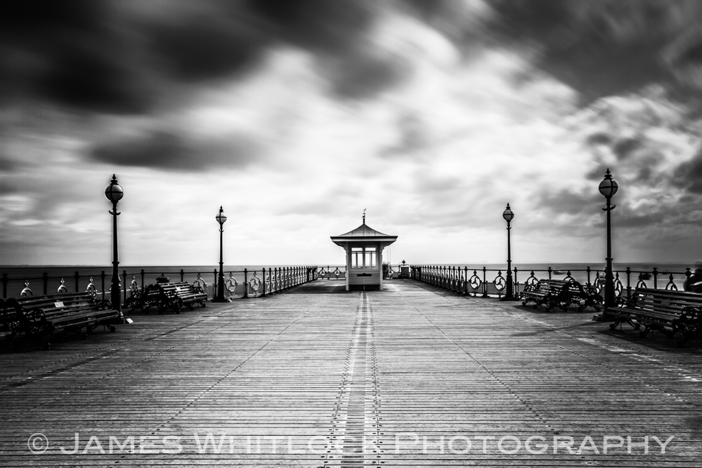 Black Swanage Pier