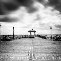 Black Swanage Pier