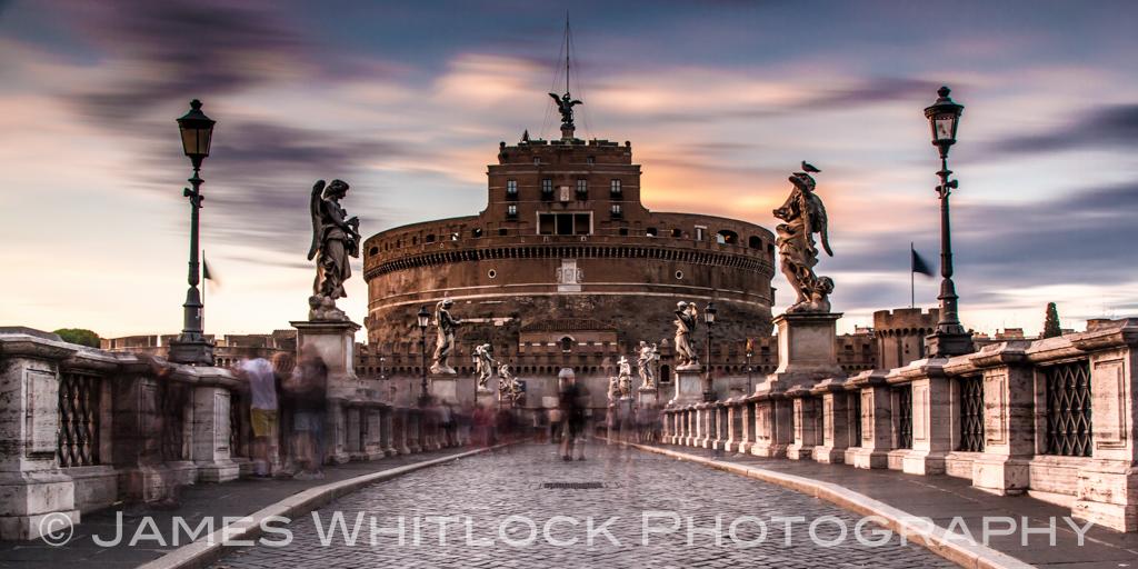 Castel St Angelo Panorama