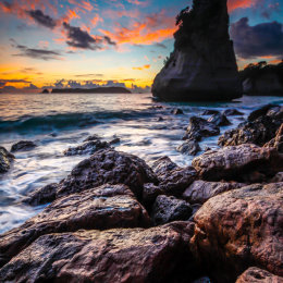 Cathedral Cove Sunrise 2