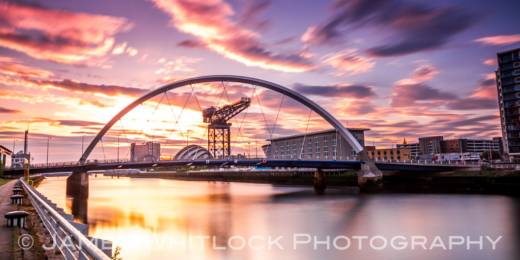 Clyde Bridge Panorama
