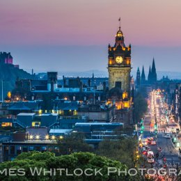 Edinburgh Summer Night