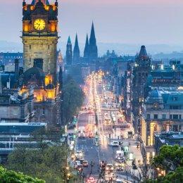 Edinburgh Summer Night Portrait