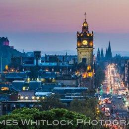Edinburgh Summer Night