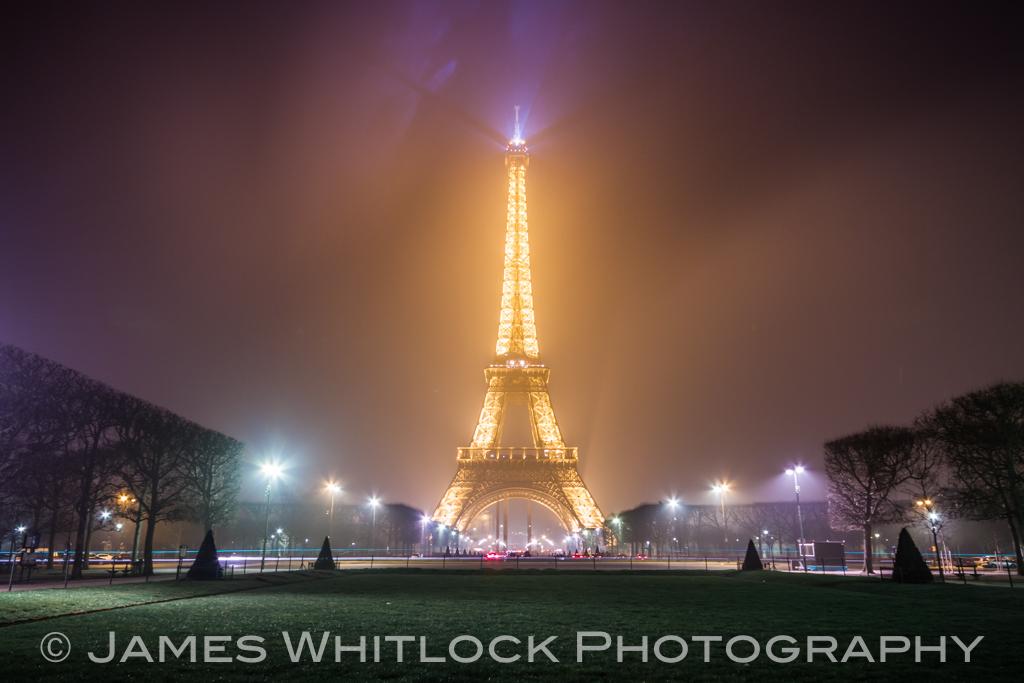Eiffel Through The Mist