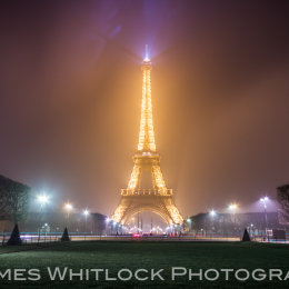 Eiffel Through The Mist