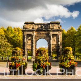 Golden Glasgow Panorama