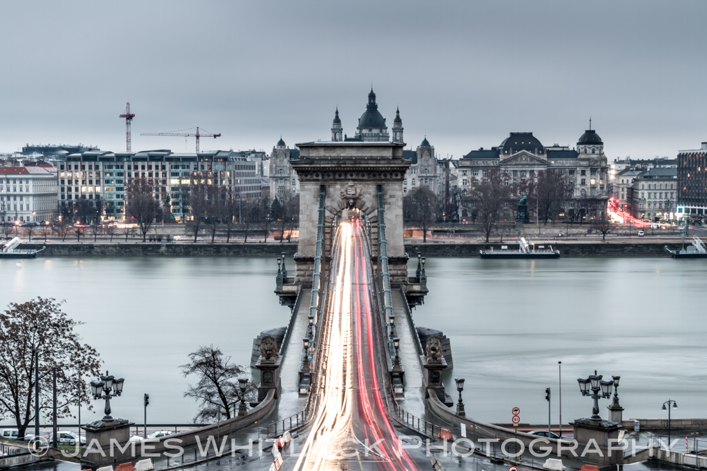 Light Streaking in Budapest