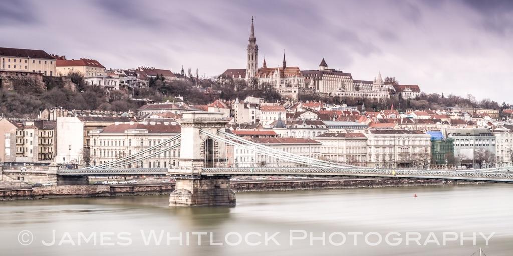 Muted Budapest Panorama
