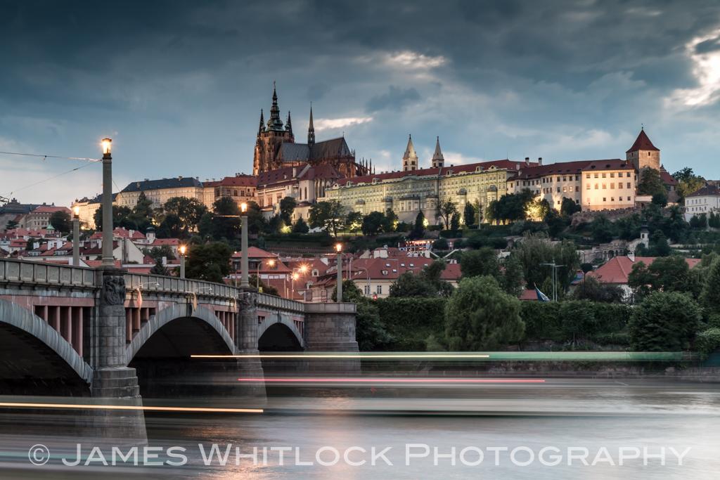 Night Falls on Prague