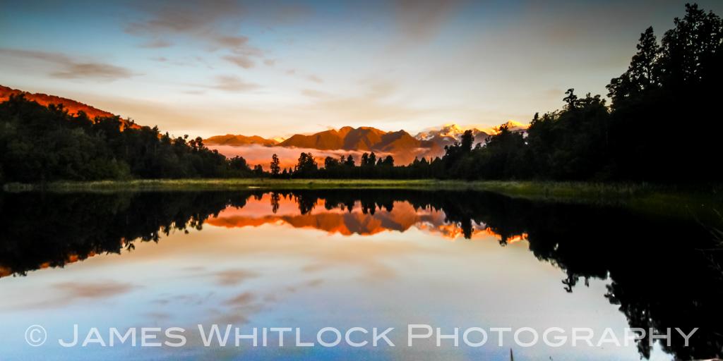 Southern Reflections Panorama