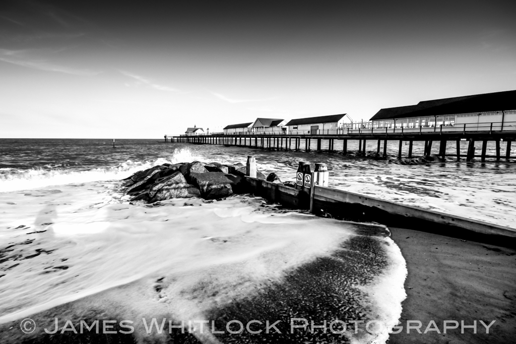 Southwold Pier Black