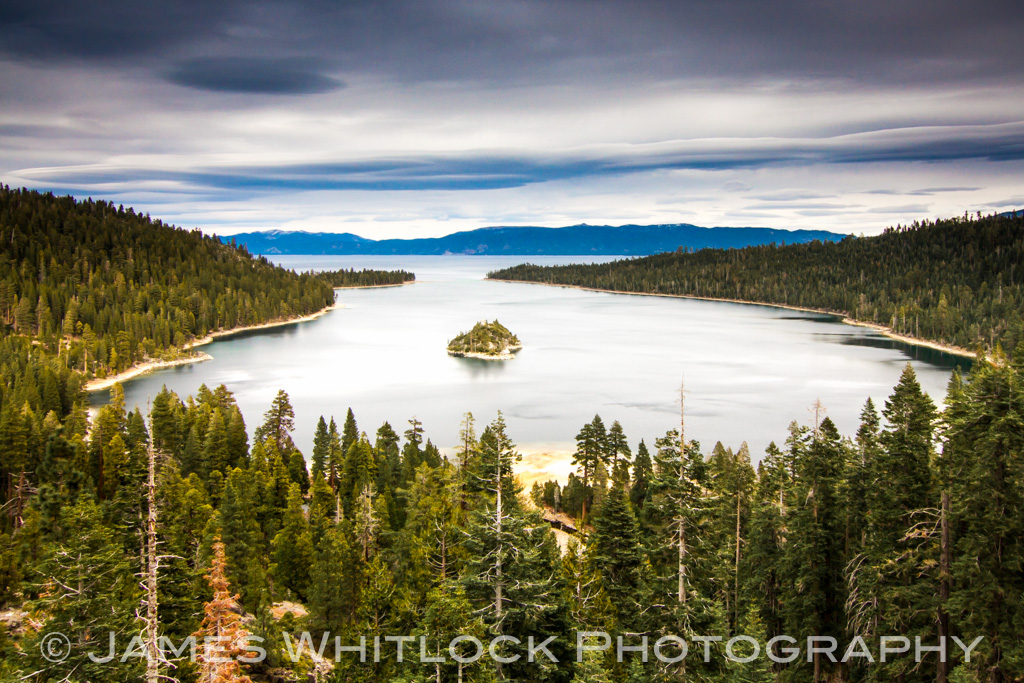 The Green of Emerald Bay