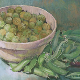 Gooseberries and Peas