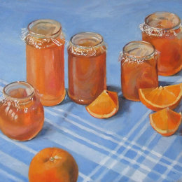 Marmalade on Grandmas Tablecloth