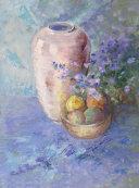 Still life with old vase