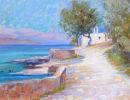 Church at Istron Beach. Crete. Sold