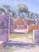 Archeological site of Lato.Crete