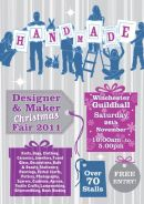 Winchester Handmade Christmas Fair December 2012.