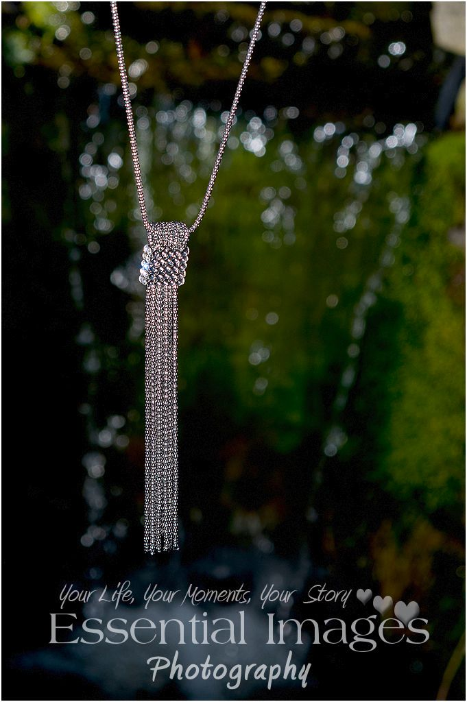 waterfall jewellery necklace
