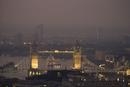 Sunrise over London
