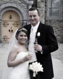 Caroline and Frank, Wedding at Murroe Church
