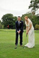 Tom and Aoife at Adare Manor Golf Club