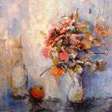 Flowers and Orange
