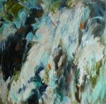 Waterfall, abstract, 2012,      S O L D,