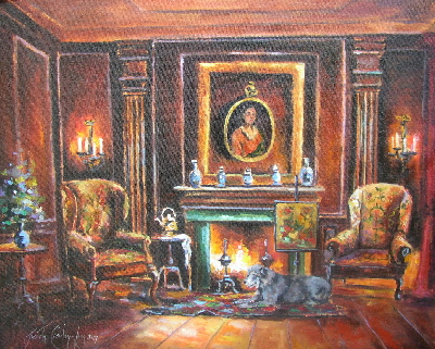 Keeping the Wolf by the Fire ! ( SOLD)