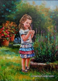 The Little Gardener (SOLD)