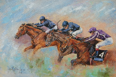 The Flying O'Briens (24 x 16 inches)
