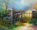 Daisy at the Gate  (SOLD)