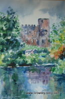 Castle reflections, Carlow (SOLD)