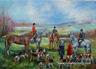 The Blessing of the Hounds (SOLD)
