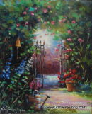 The Rose Arbour   (SOLD)