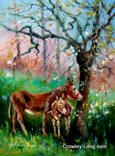 The Spring Foal (16 x 12 inches)