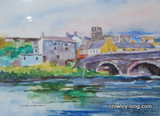 The Bridge  at Graiguecullen <p style=