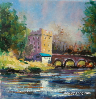 Milford, Carlow ( 8 x 8 inches) € 220