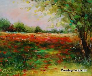 Blushing Meadows (10x 12ins) € 450