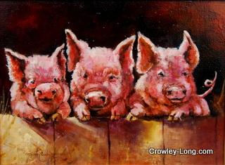 Hog-wash (12 x 16 inches)