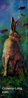 Hare Today (24insx8ins) € 600